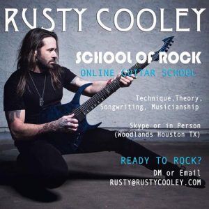 Rusty Cooley Guitar Lessons