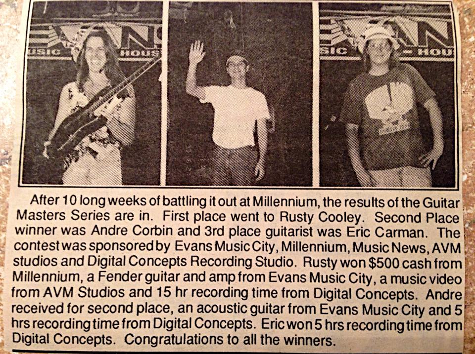 Young Rusty Cooley